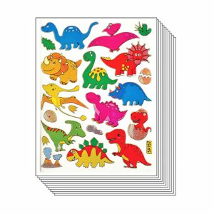 Cute Dinosaur Scrapbook Stickers