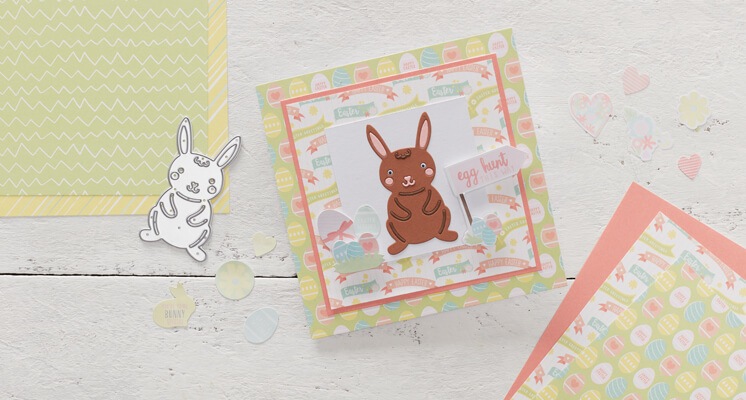 Make a Die Cut Bunny Card