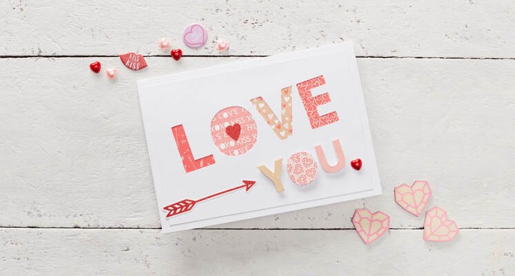 How to Make a Valentine's Day Paper Cut Card?